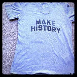 Under armour make history t shirt